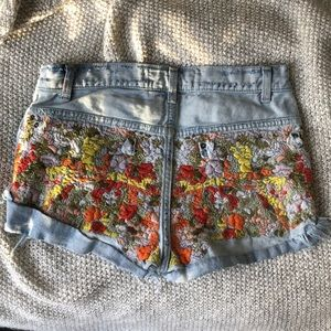 RARE☀️Free People shorts size 24